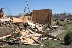 Tornado damage ky 10 Stock Images