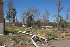 Tornado damage ky 1e Stock Photography