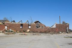 Tornado damage ky 1j Royalty Free Stock Image
