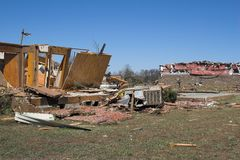 Tornado damage ky 9 Royalty Free Stock Image