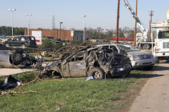 Tornado damage TN 4 Royalty Free Stock Photography
