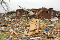 Tornado Damaged House Joplin Mo Stock Photos