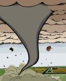 Tornado de gran alcance Imagen de archivo libre de regalías