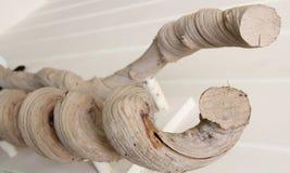 Tornado de madeira foto de stock