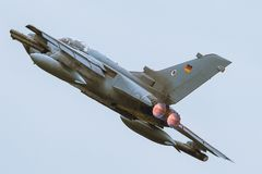 Tornado de Panavia en OTAN Tiger Meet M2014 Fotografía de archivo