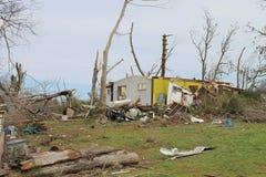 Tornado Debri stock image