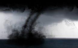 Tornado del agua foto de archivo