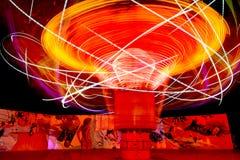 Tornado del paseo del carnaval Imagen de archivo