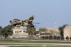 Tornado in Desert Camoflage Royalty Free Stock Photos