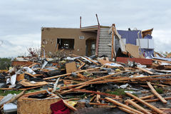 Tornado destruction Royalty Free Stock Photos