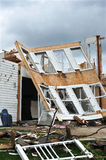 Tornado destruction Stock Image