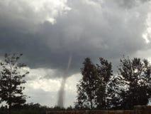 Tornado en Kenia Fotos de archivo libres de regalías