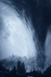Tornado en la ciudad Imagen de archivo
