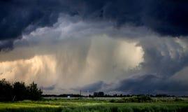 Tornado Gewaarschuwd Onweer royalty-vrije stock afbeeldingen