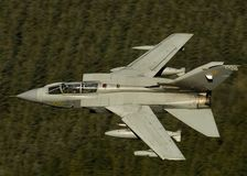 Tornado GR4. An RAF Tornado GR4 on a training sortie stock photos