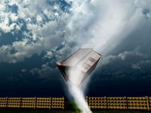 Tornado-Haus 5 Lizenzfreies Stockfoto