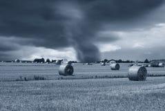 Tornado am Horizont Stockfotos