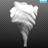 Tornado. A hurricane wind. Dangerous cyclone Royalty Free Stock Photography
