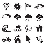 Tornado Icons. This image is a vector illustration and can be scaled to any size without loss of resolution stock illustration
