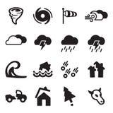 Tornado Icons Stock Image
