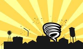 tornado ilustracyjny Obraz Stock