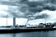 Tornado incoming Royalty Free Stock Images