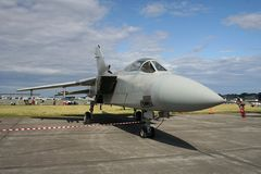 Tornado Jet Bomber Royalty Free Stock Images