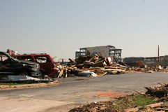 Tornado in Joplin Mo Sun May 22, 2011 Royalty Free Stock Photography