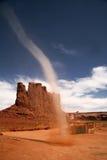 tornado mała pomnikowa dolina zdjęcia stock