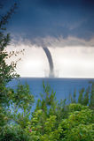 Tornado over the sea Royalty Free Stock Images