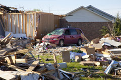 Tornado Path Royalty Free Stock Images