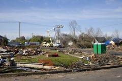 Tornado Path Royalty Free Stock Photo