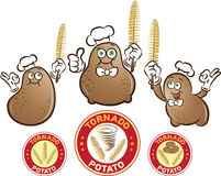 Tornado Potato Royalty Free Stock Photo