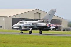 Tornado Samolot Obrazy Royalty Free