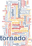 Tornado storm background concept Stock Photos