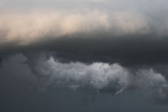 Tornado storm clouds Royalty Free Stock Photo