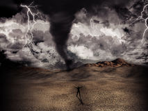 Tornado storm Stock Photography