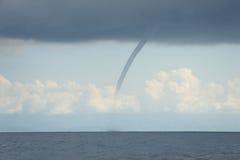 Tornado (tromba marina) Fotos de archivo libres de regalías