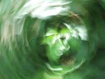 Tornado verde Imagen de archivo libre de regalías