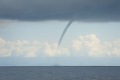 Tornado (Waterspout). Waterspout or tornado that was observed over the Pacific Ocean near Costa Rica Royalty Free Stock Photos