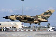 Tornado in Woestijn Camoflage stock afbeelding