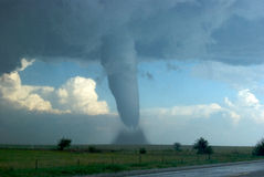 Tornado y Hailstorm surorientales de Colorado Imagen de archivo