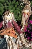 Tornando ôcas decorações. Fotos de Stock Royalty Free