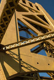 Tornbro gamla Sacramento Arkivbild