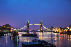 Tornbro i London, Storbritannien Royaltyfria Foton