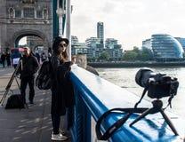 Tornbro, stadshus, London royaltyfria foton