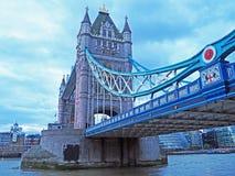 Tornbron, London, England Arkivbild