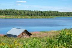 Torne rzeczna dolina, Szwecja Fotografia Royalty Free