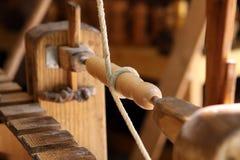 Torneado de madera Imagenes de archivo