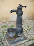 Torneira da rua em Cesky Krumlov Foto de Stock Royalty Free